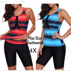 Other - SWIMSUIT 2 PIECE🏊♀️CHOOSE RED OR BLUE NEW ♥️♥️